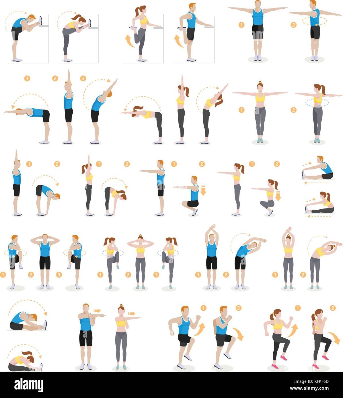 Fitness Zuhause übungen