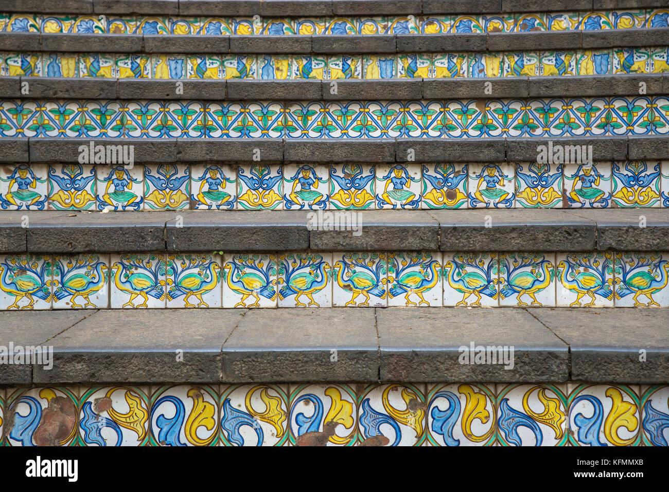 Piastrelle siciliane immagini & piastrelle siciliane fotos stock alamy