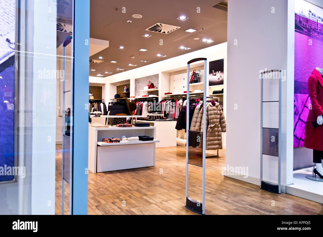 Fashion retail shop Immagini Stock