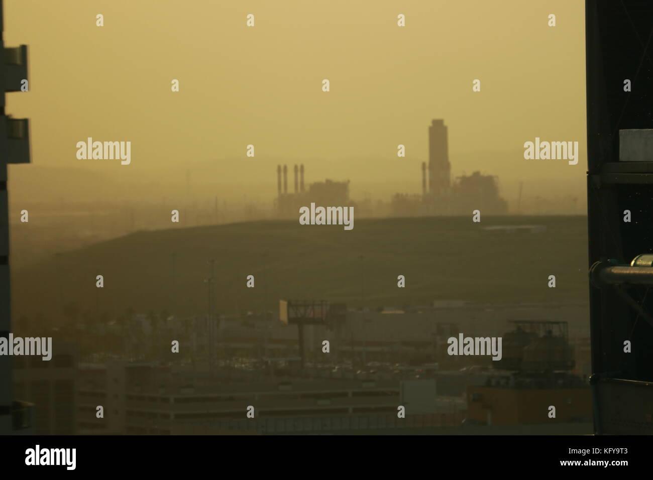 Puerto Rico smog Immagini Stock
