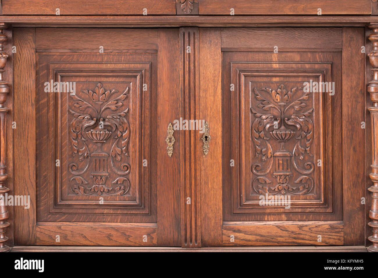 Credenza Da Cucina Antica : Mobile credenza con vetrinetta da cucina ante e sportelli