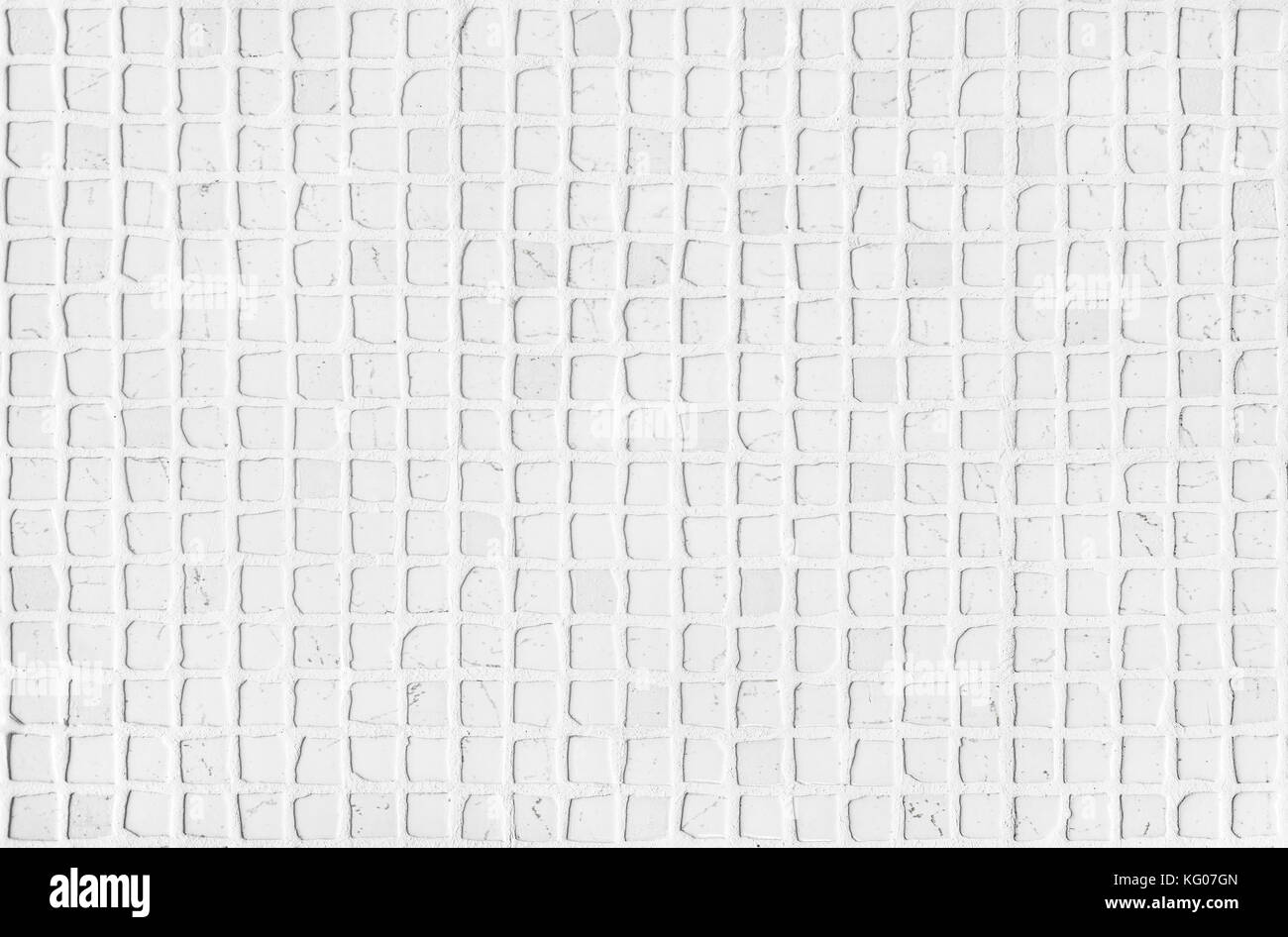 Il marmo bianco di carrara di piastrelle a mosaico di luce naturale
