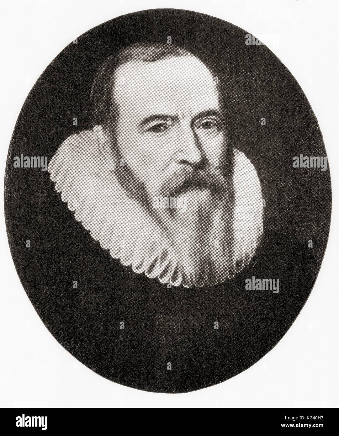 Johan van oldenbarnevelt, 1547 - 1619. statista olandese che ha giocato un ruolo importante nella lotta olandese Immagini Stock