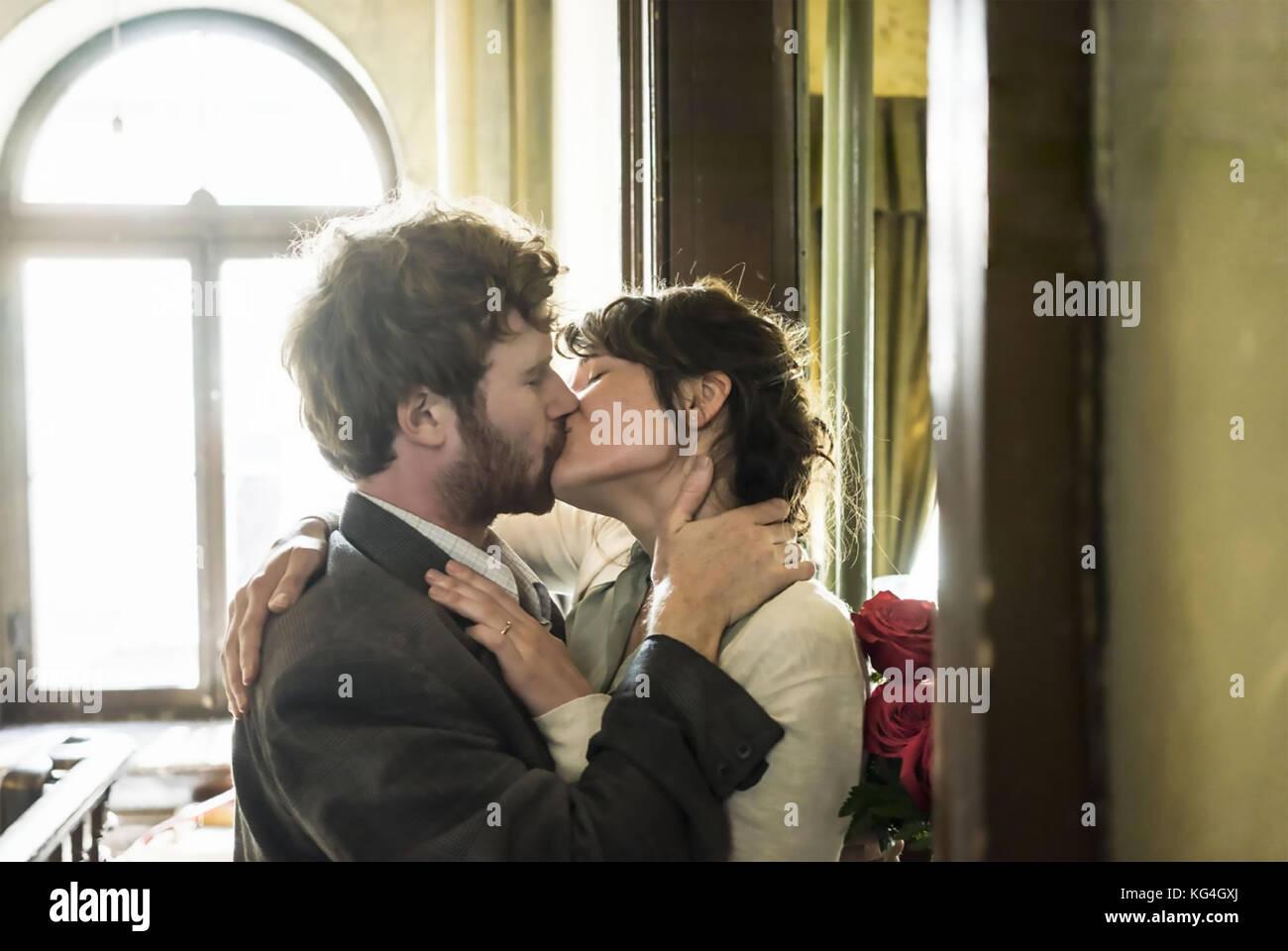 La storia di amore 2016 un film 2.4.7 produzione con Gemma Arterton e mark rendall Immagini Stock