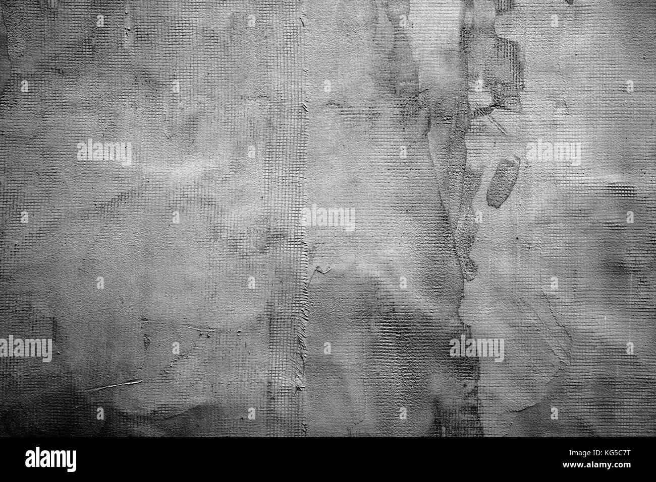 Abstract grigio scuro texture intonaco della parete come sfondo foto