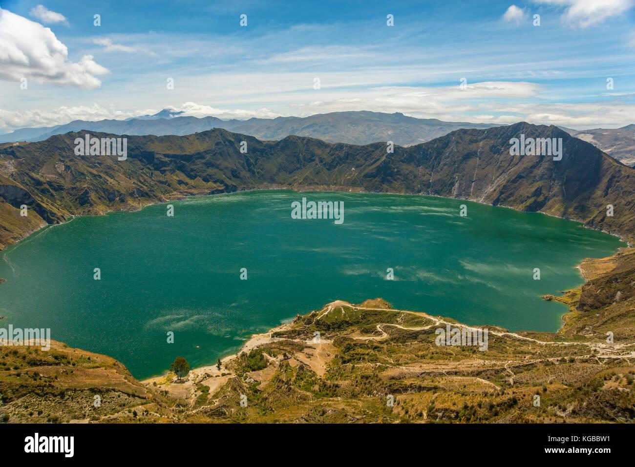 America del sud ecuador latacunga travel Immagini Stock