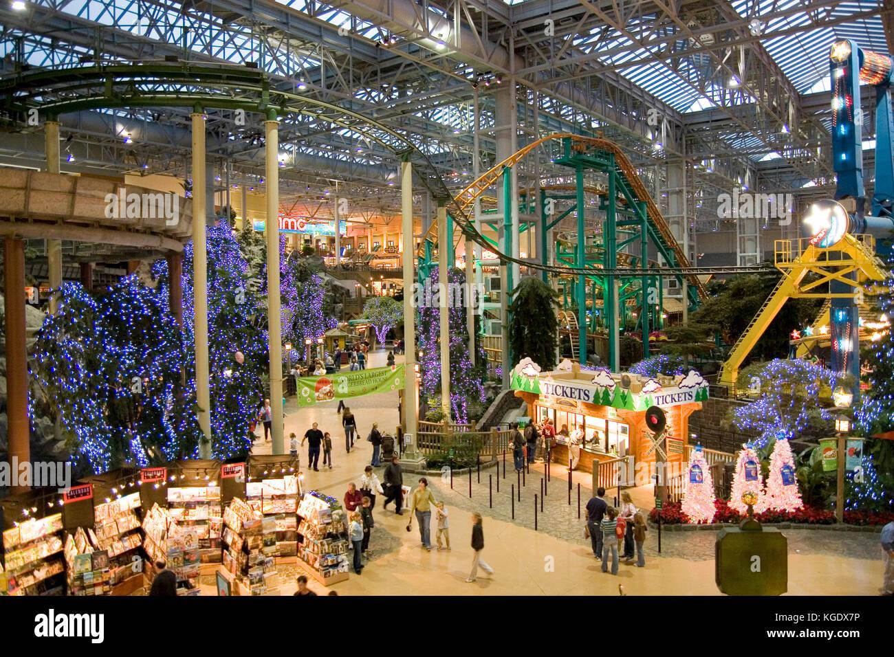 Immagini Natale Usa.Minnesota Usa Minneapolis Mtutte America Pre Shopping Di Natale