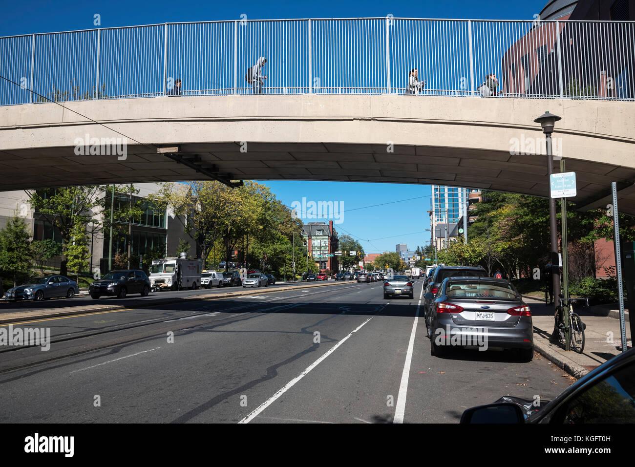 Strada di Philadelphia, Pennsylvania, Stati Uniti d'America Immagini Stock