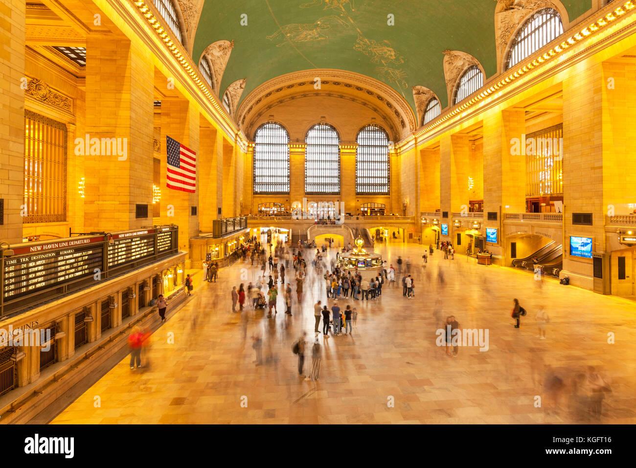 La Grand Central Station Grand Central Terminal New York Stati Uniti new york Grand Central Terminal di new york Immagini Stock