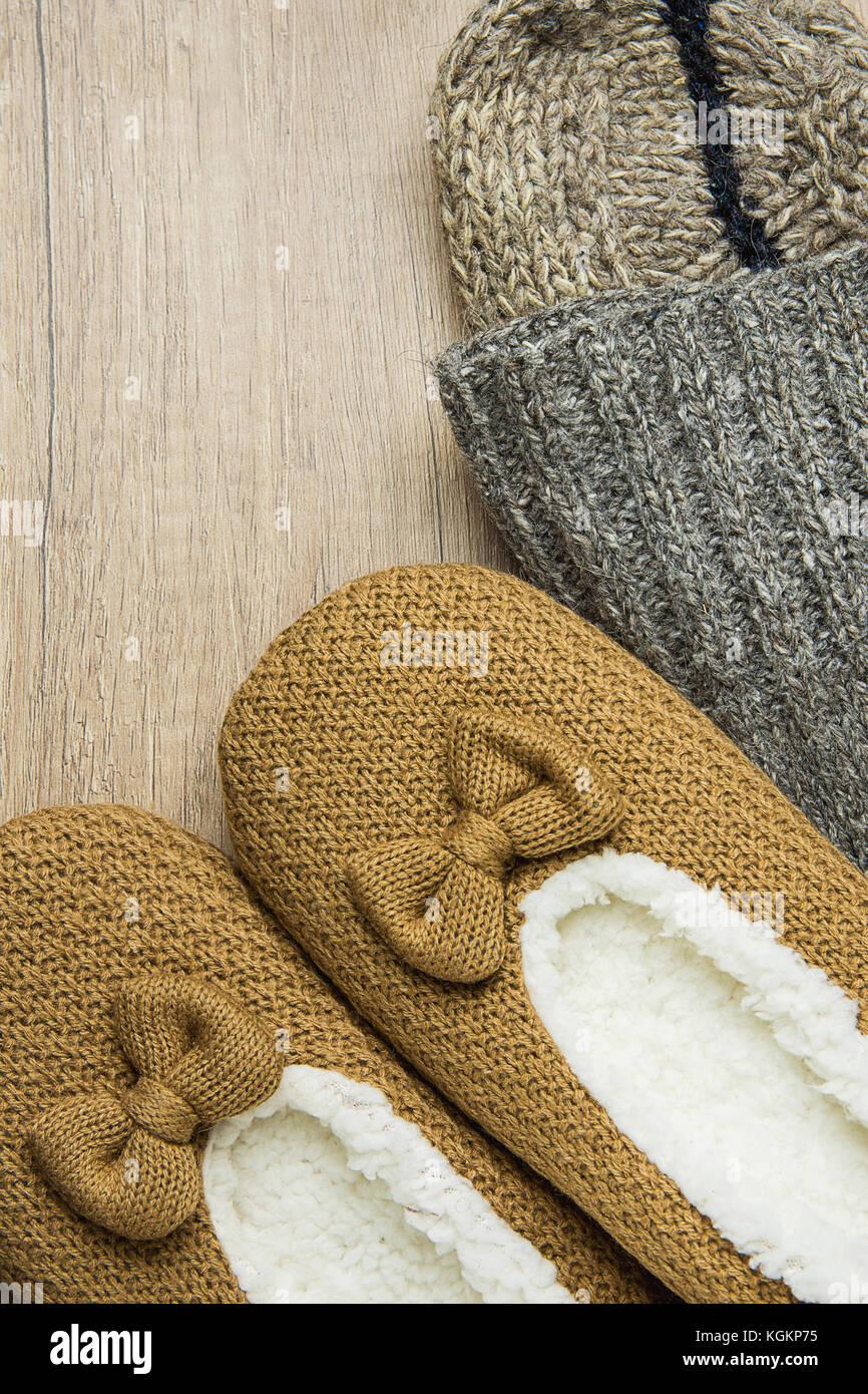 suave tejidos mano de hilos Calcetines a con lana mN0w8nv