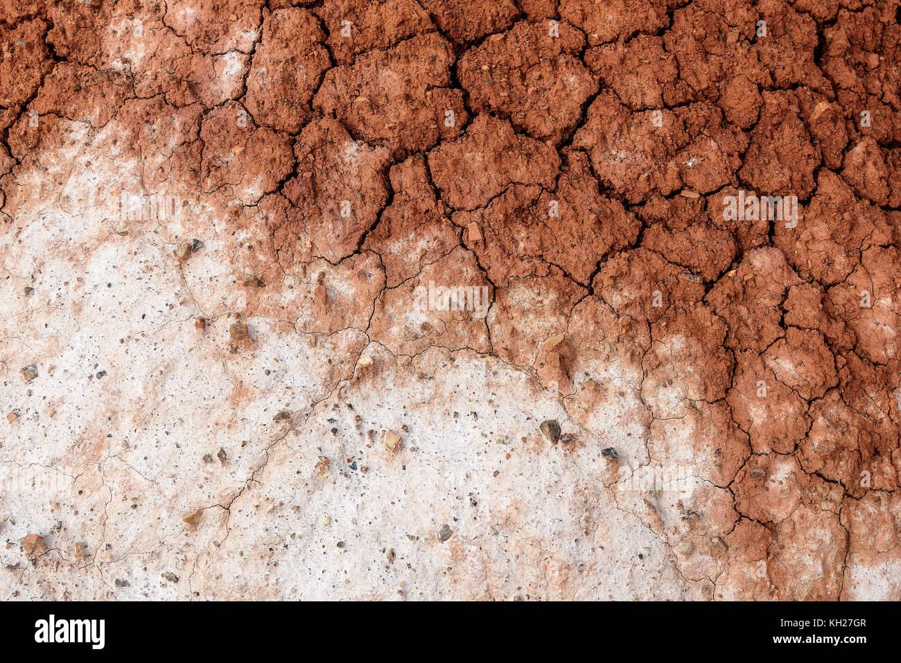 Sfondo astratto con texture di marrone e bianco i colori - Immagine di terra a colori ...
