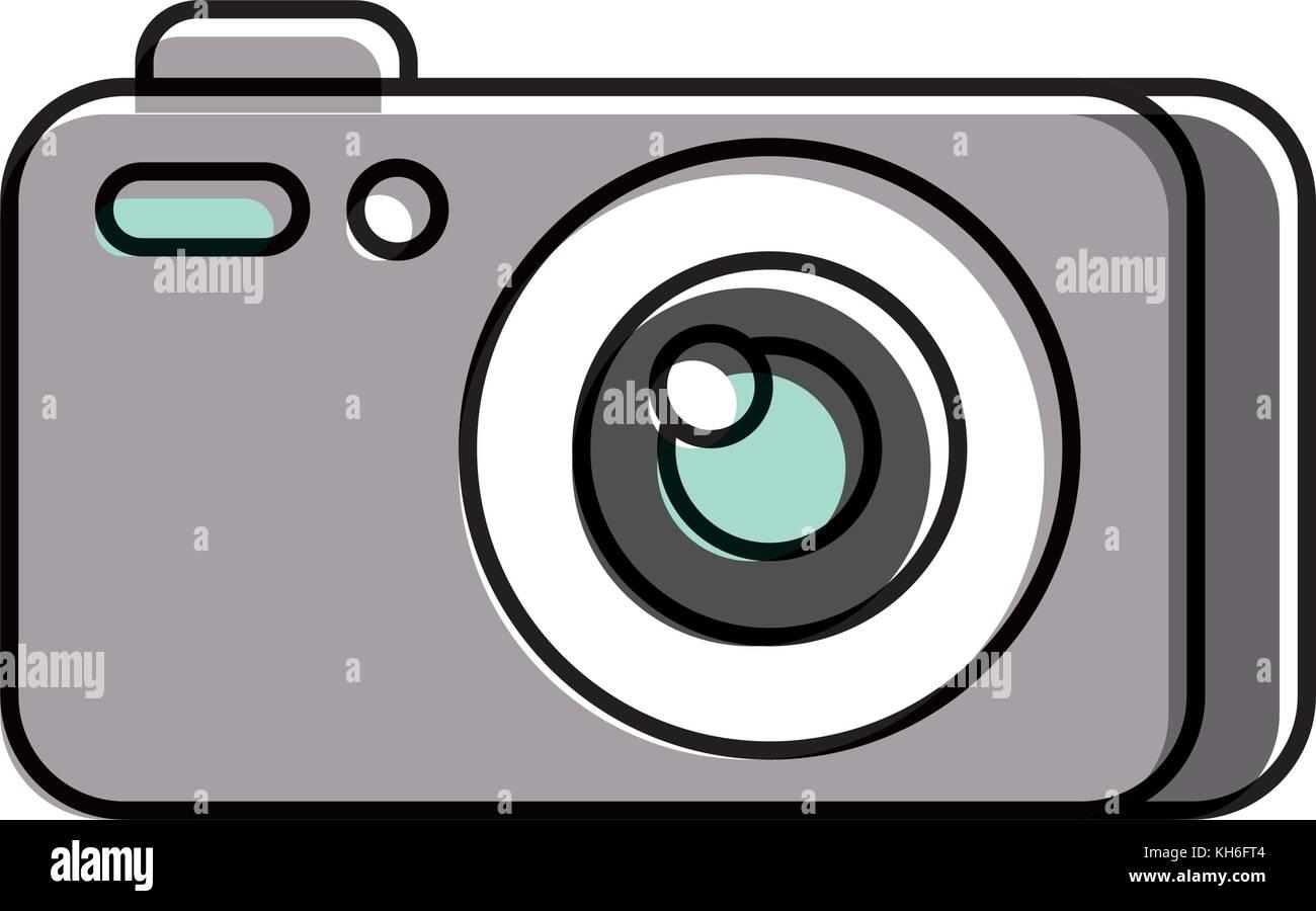 Fotografia Fotocamera gadget studio professionale di apparecchiature Immagini Stock