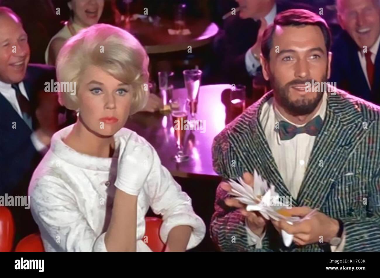 Amante tornare 1961 film universale con Doris Day e Rock Hudson Immagini Stock
