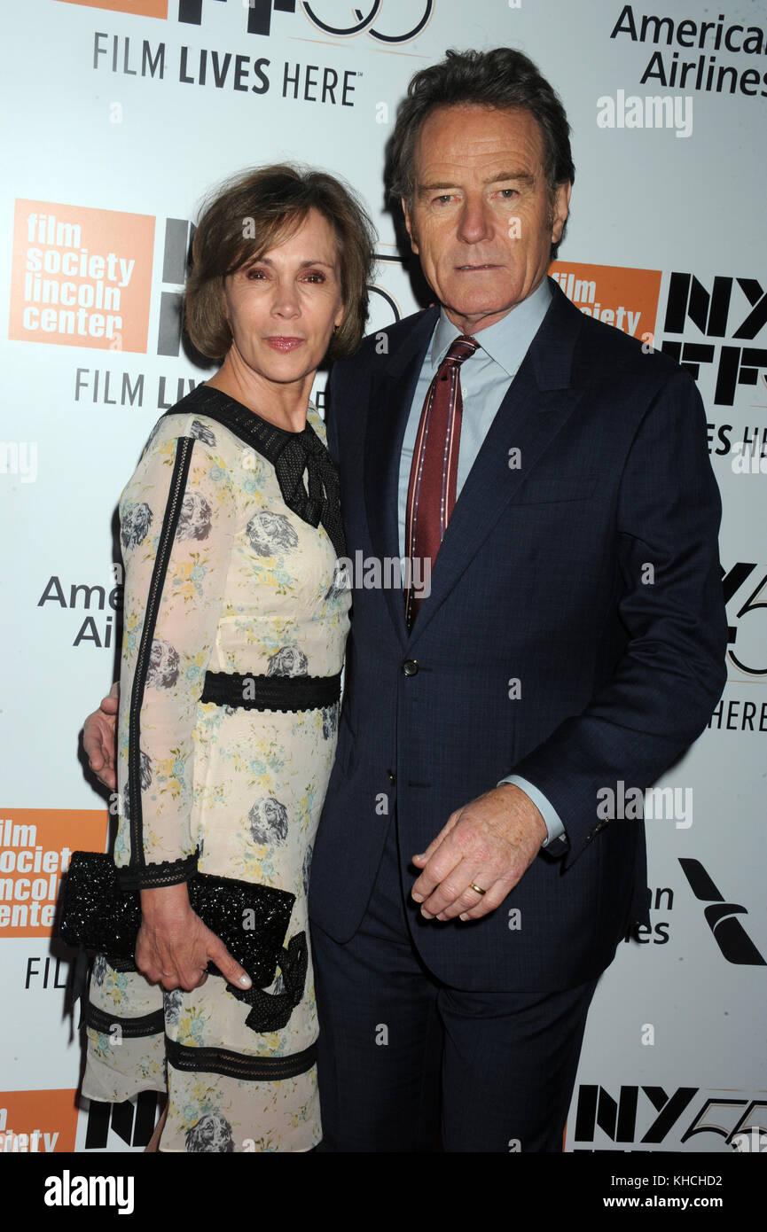 """New york, ny - 28 settembre: Bryan cranston assiste 55th new york film festival apertura notturna premiere di """"ultima Foto Stock"""