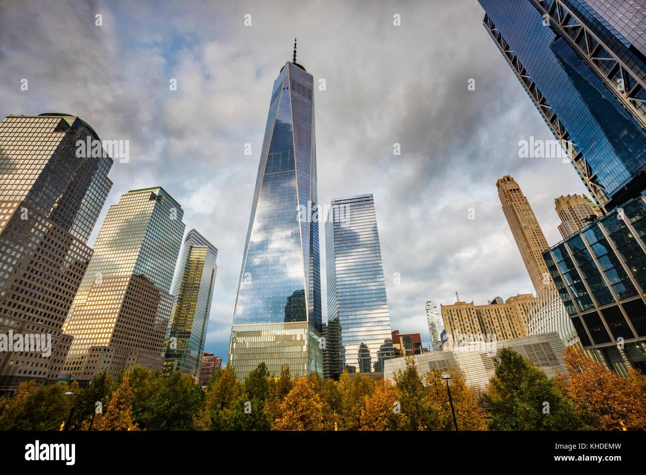 Freedom Tower New York Immagini Stock