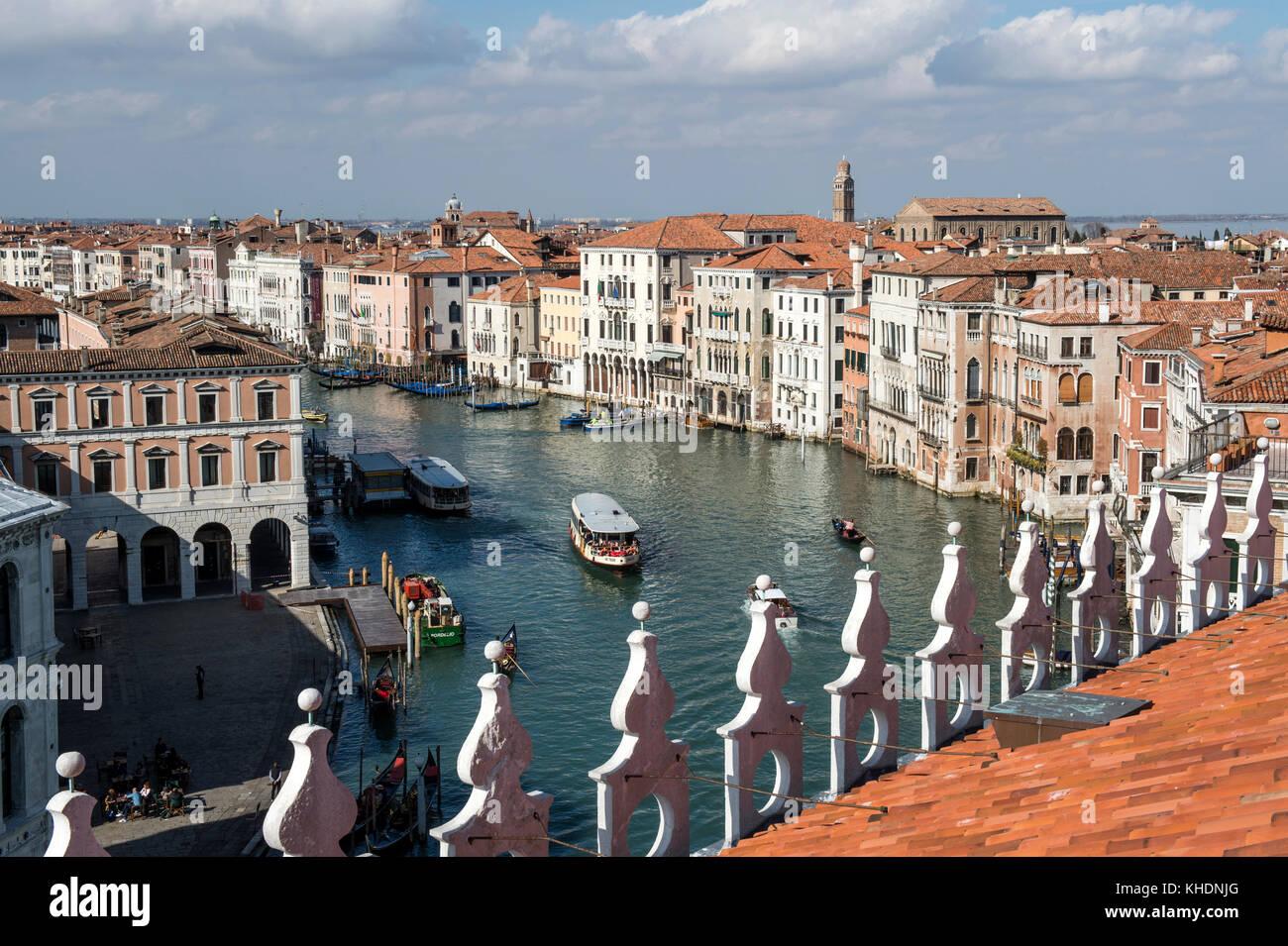L Italia Veneto Venezia Vista Del Canal Grande Dal