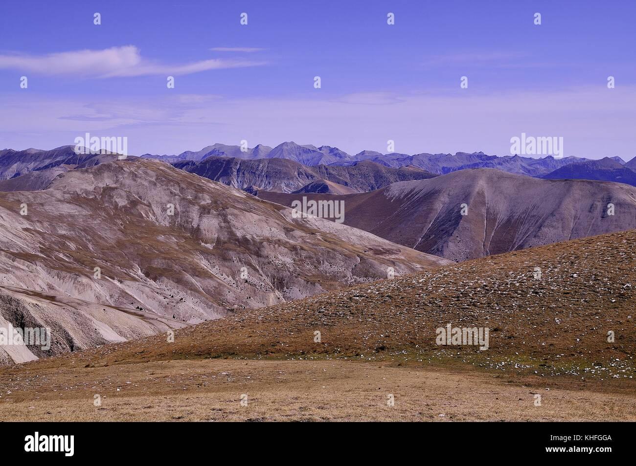Paysages de montagne Immagini Stock