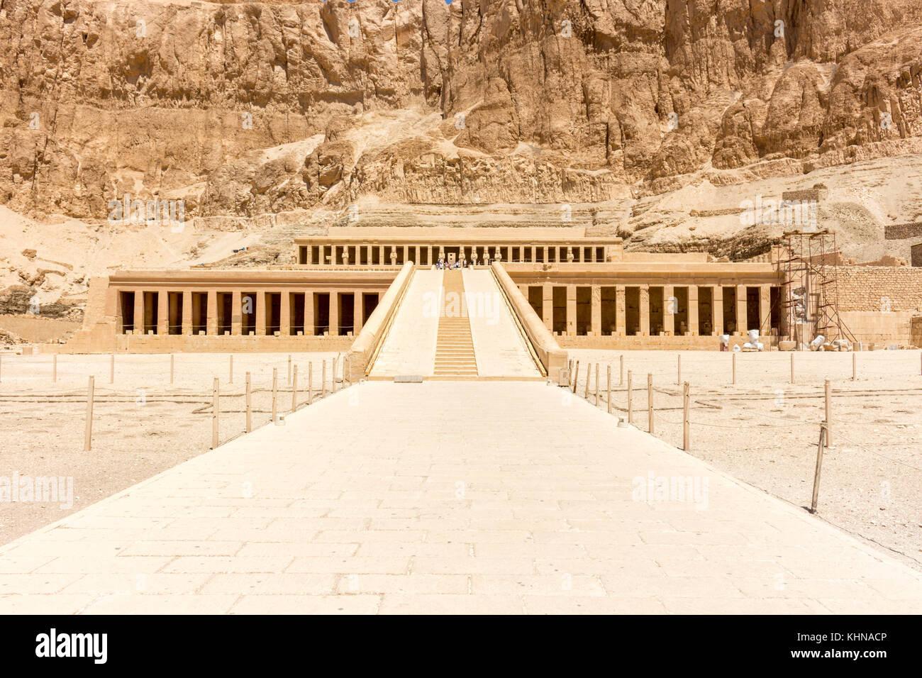Egitto tempio di Luxor e Karnak, di Edfu e Komombo Immagini Stock