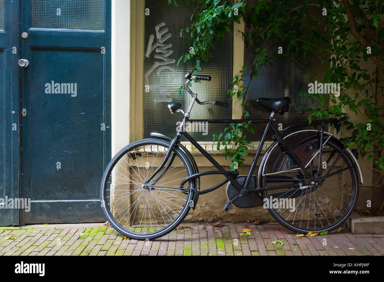 Bicicletta Olandese Tradizionale Immagini Bicicletta Olandese