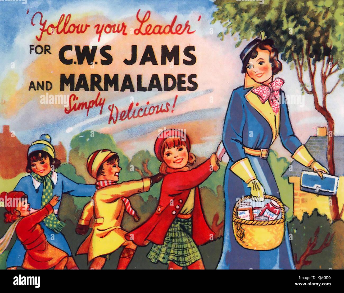 Seguire il leader cws poster su 1925 Immagini Stock
