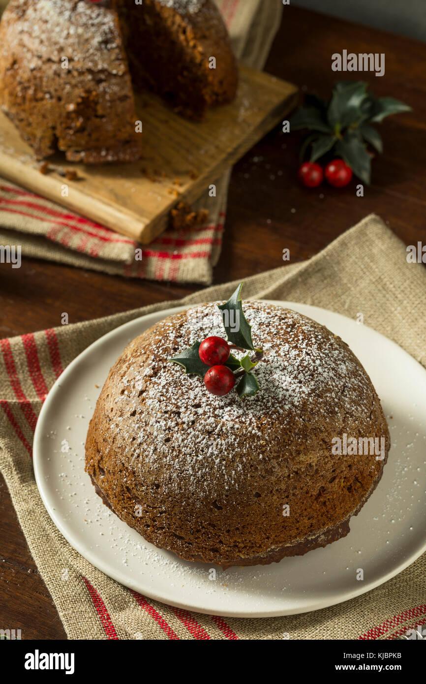 Dolci Di Natale Fatti In Casa.Dolce Di Natale Fatti In Casa Figgy Pudding Con Zucchero A
