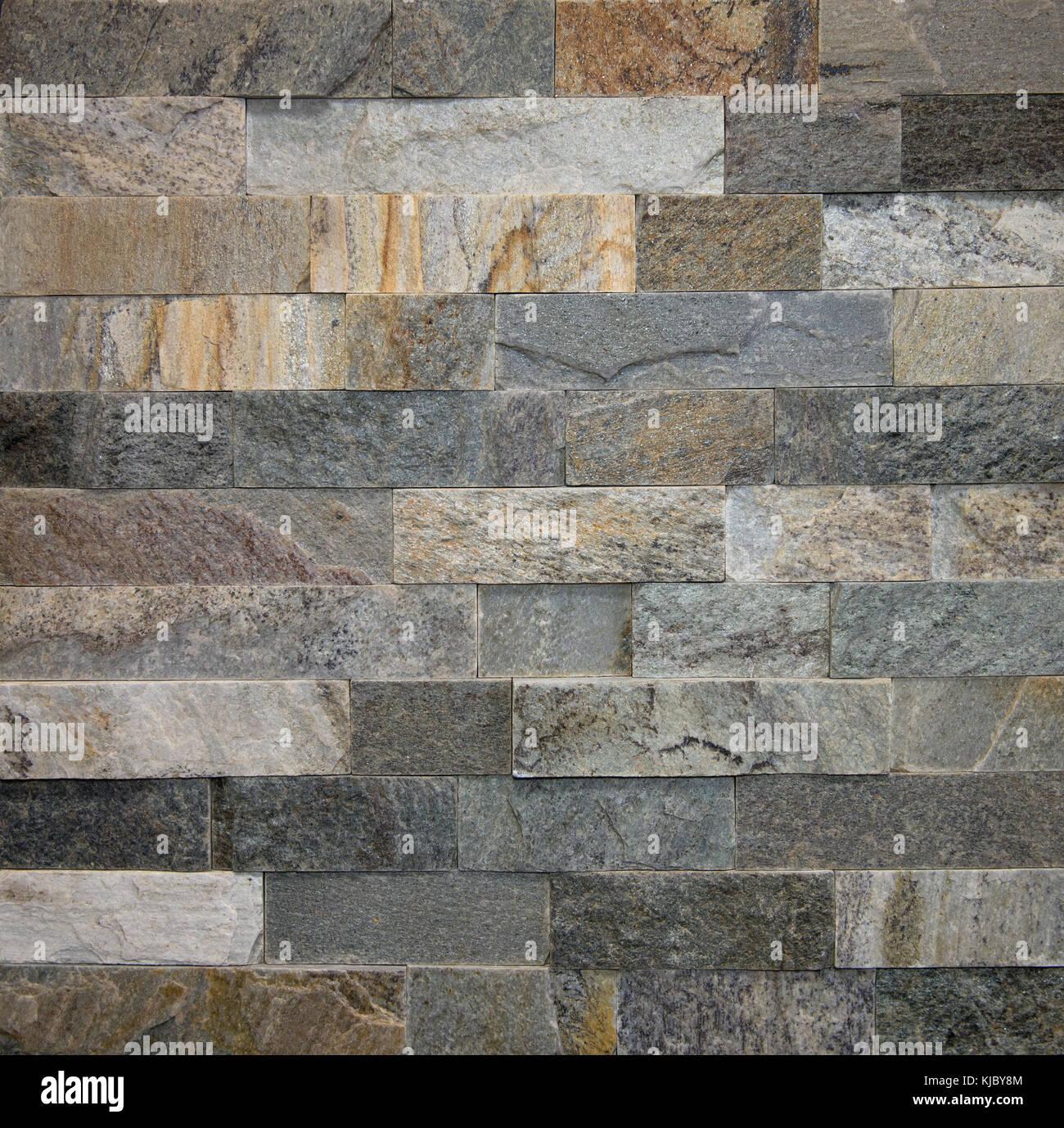 Cool la pietra naturale brick parete in pietra texture - Parete di pietra ...