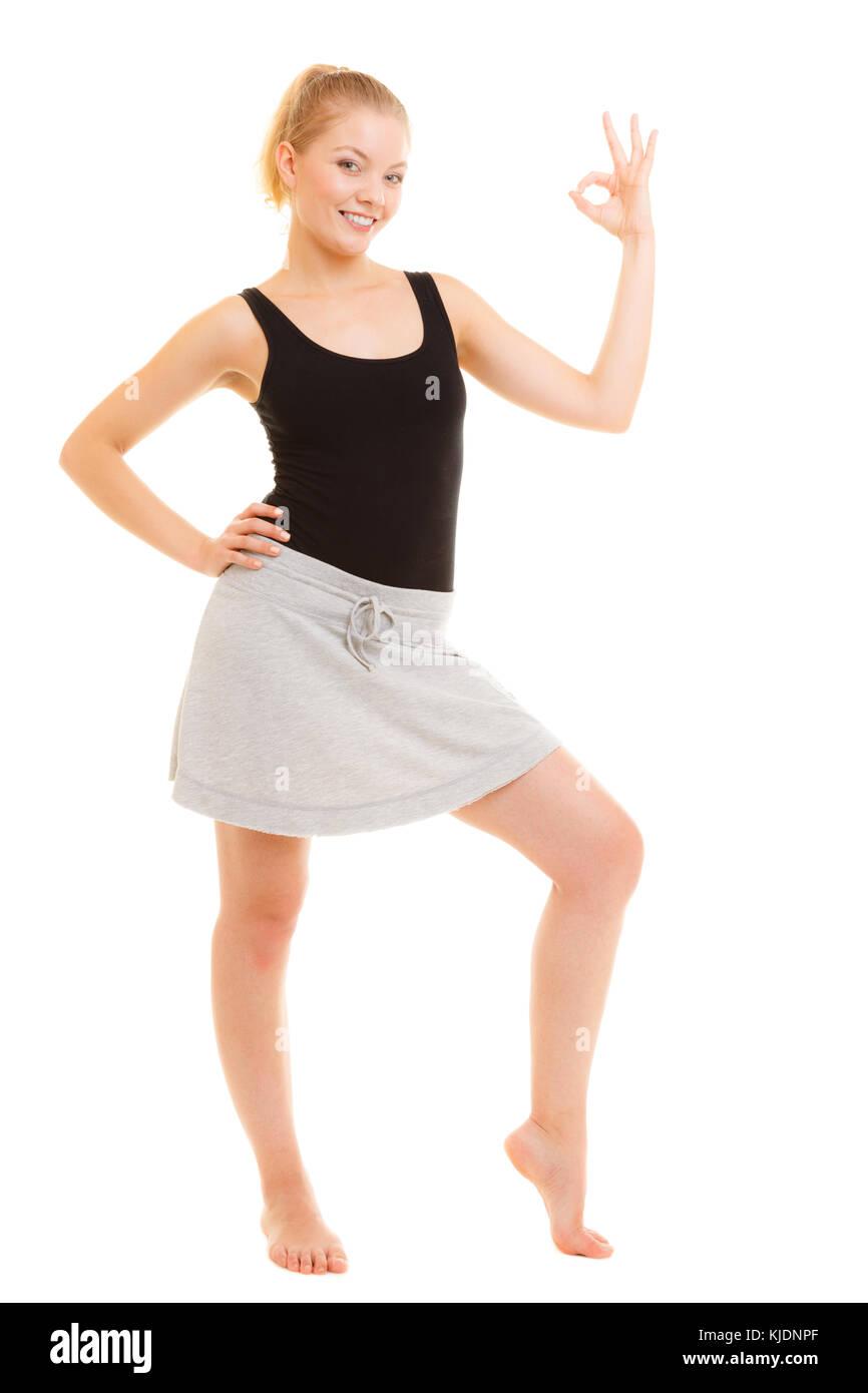 new concept bc23d 49022 Sport e stile di vita attivo. fitness ragazza sportivo in ...