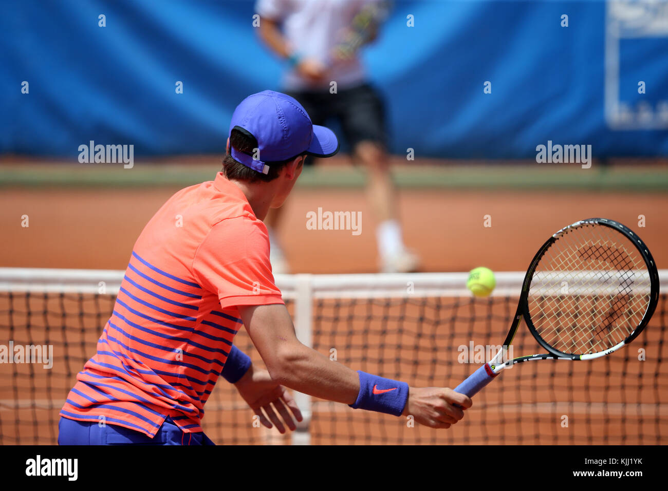 Saint Gervais Open di Tennis 2015. La Francia. Immagini Stock