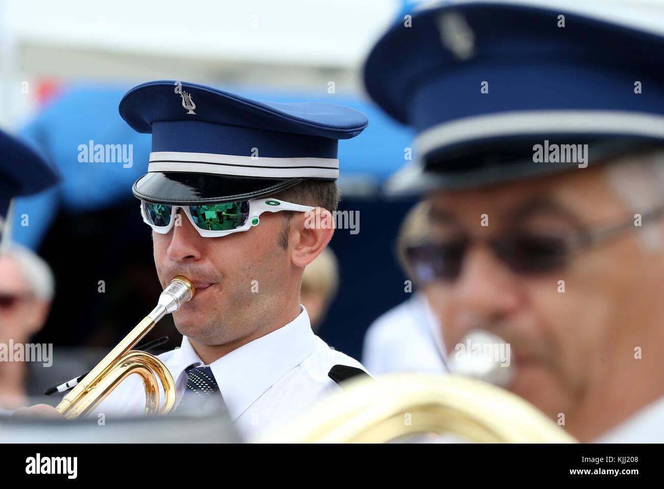 Marching Band. La Francia. Immagini Stock