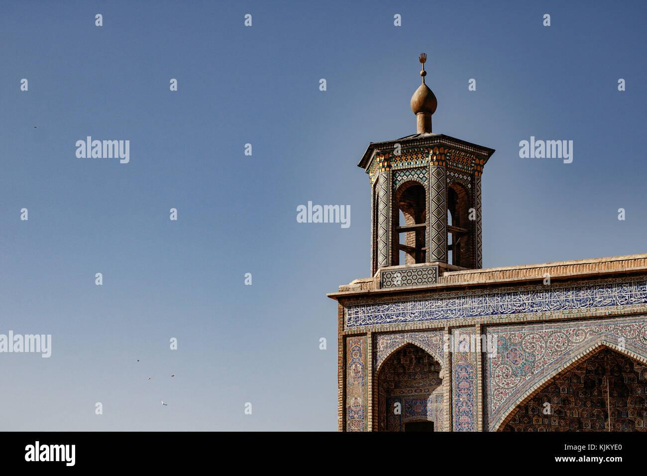 La moschea di rosa di shiraz, nasir ol molk Foto Stock