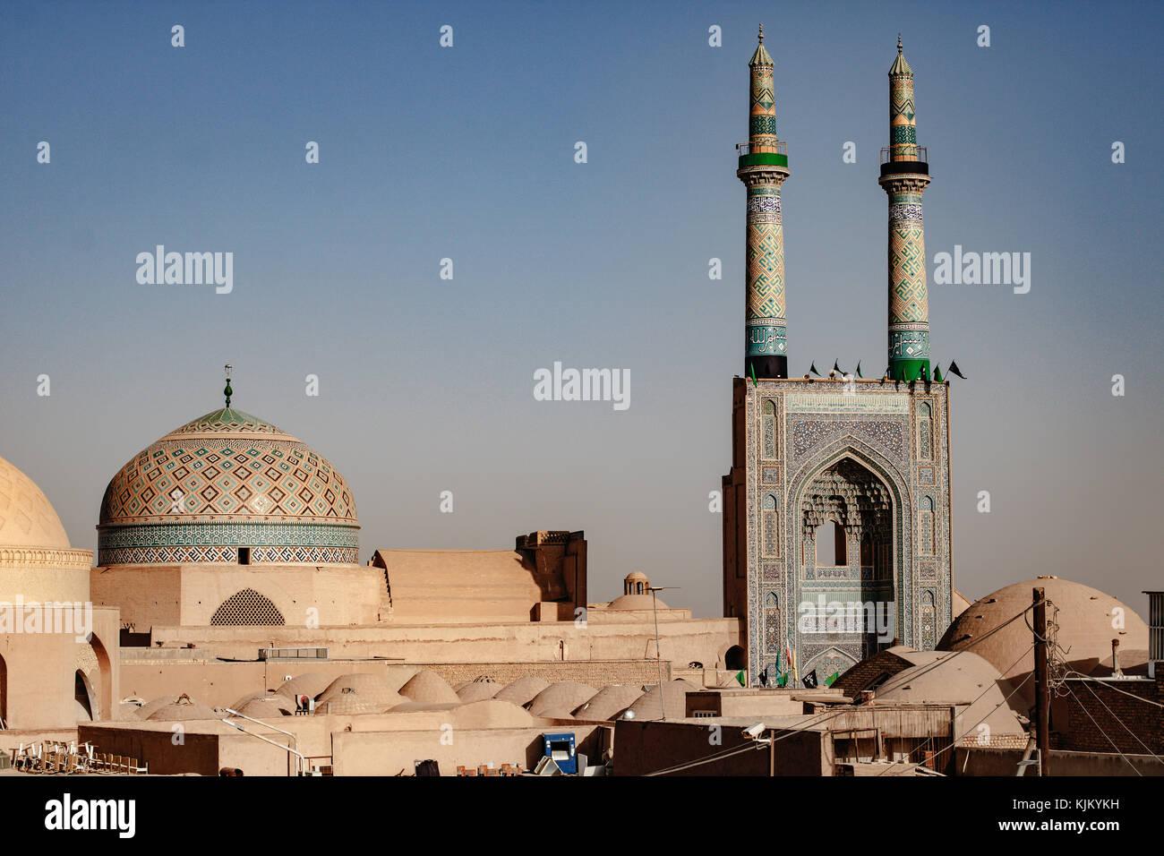 Shiraz, la città che è venuto dal dolce Immagini Stock