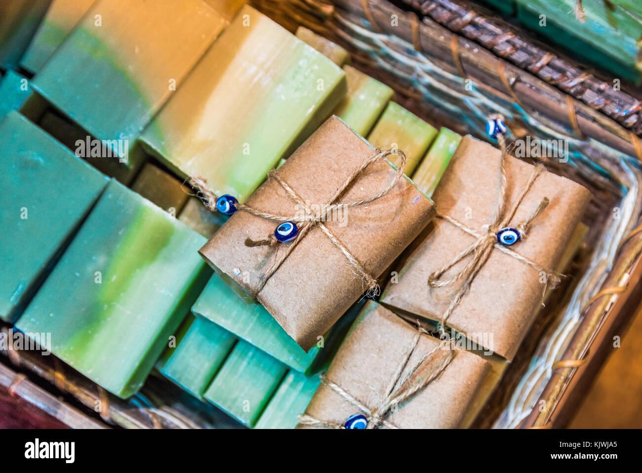 Diversi tipi di bagno turco naturale di frutta fatte a mano i
