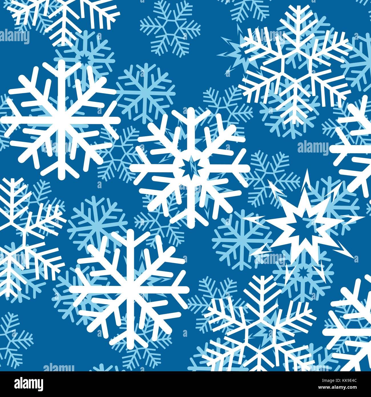 Sfondo dal simbolo del fiocco di neve Immagini Stock