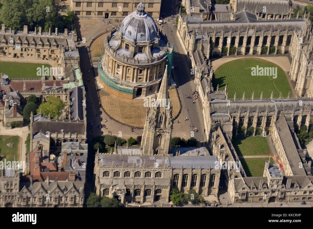Oxford dall'aria Immagini Stock