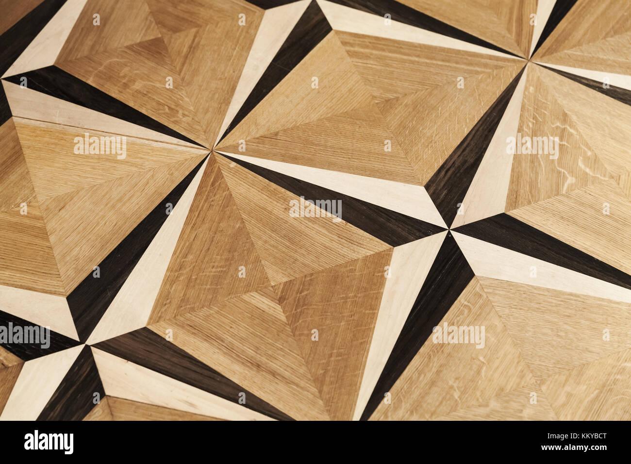 Classico in legno con parquet vintage rose del vento pattern
