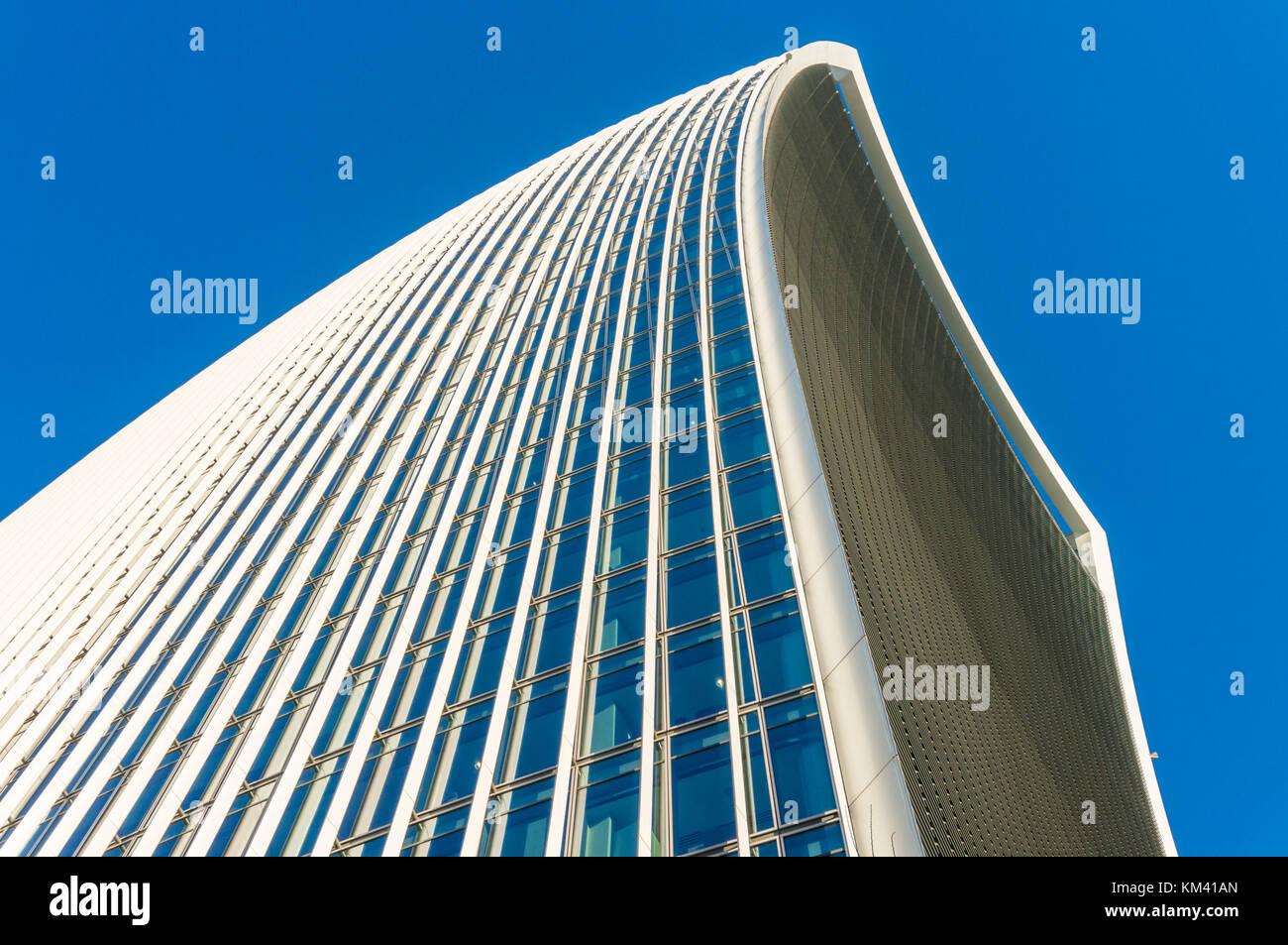 Inghilterra Londra Inghilterra city di Londra il walkie talkie edificio grattacielo o 20 Fenchurch Street City di Immagini Stock