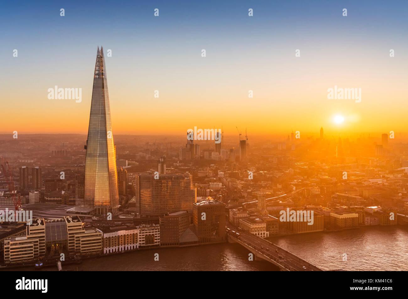 La shard Londra Inghilterra Londra uk gb UE Europa la shard Londra Londra Inghilterra Regno unito Gb eu europe Immagini Stock