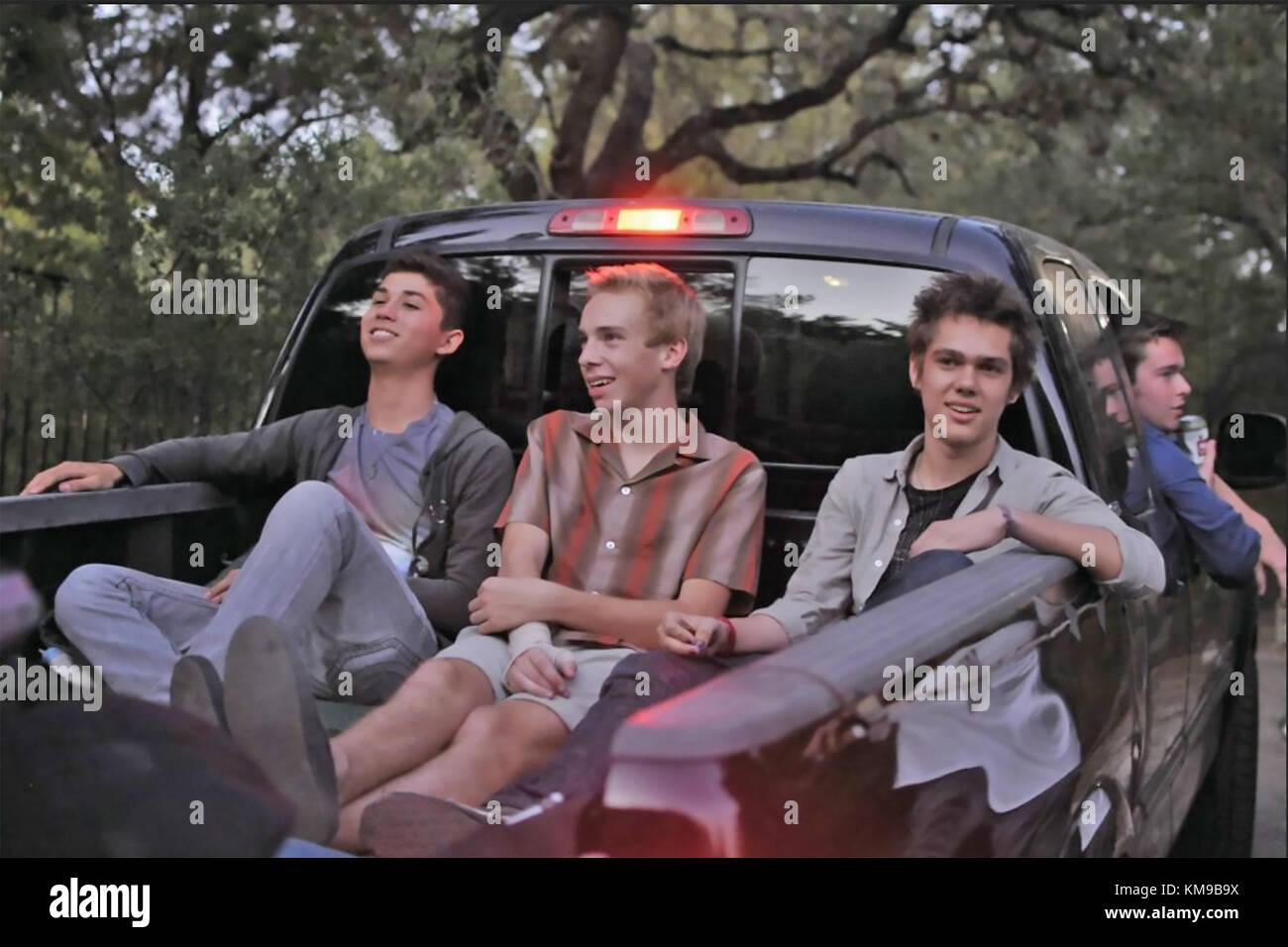 Boyhood 2014 Universal Pictures film Immagini Stock