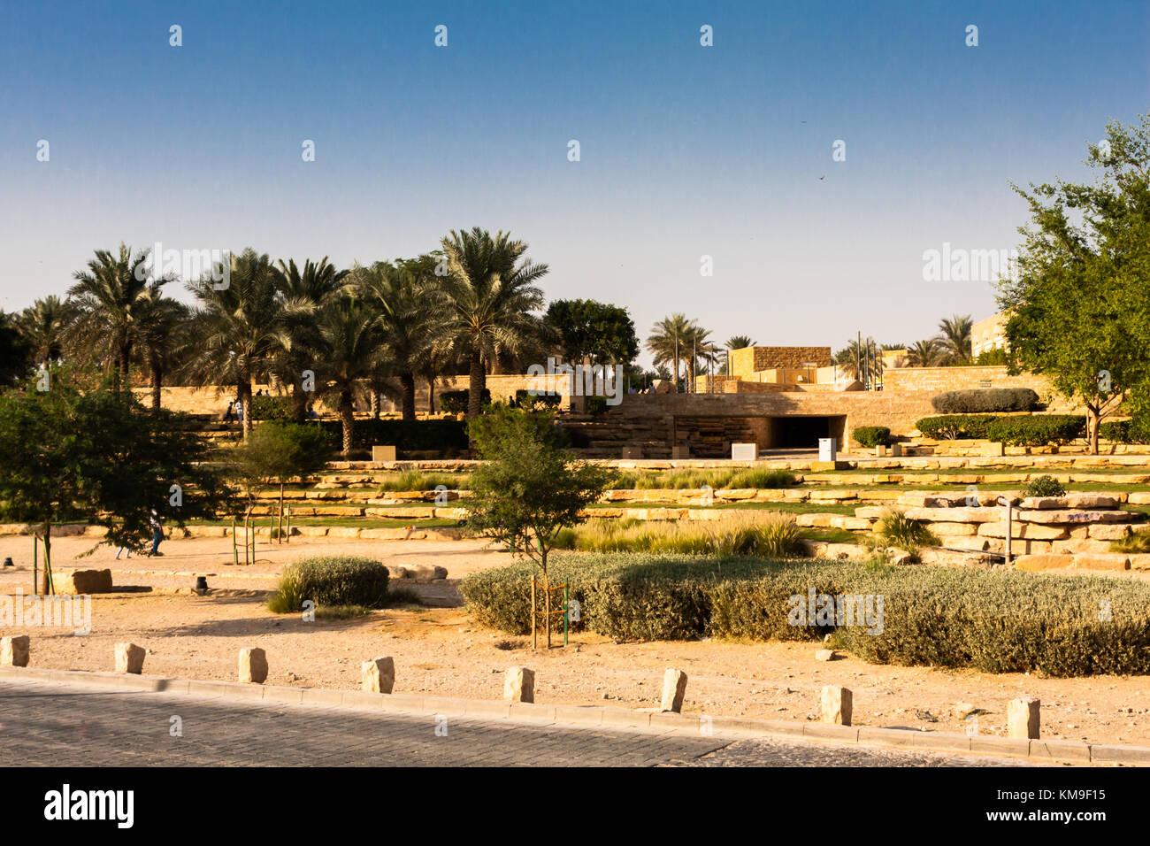 Parco di Diriyah, Riyadh, Arabia Saudita Immagini Stock