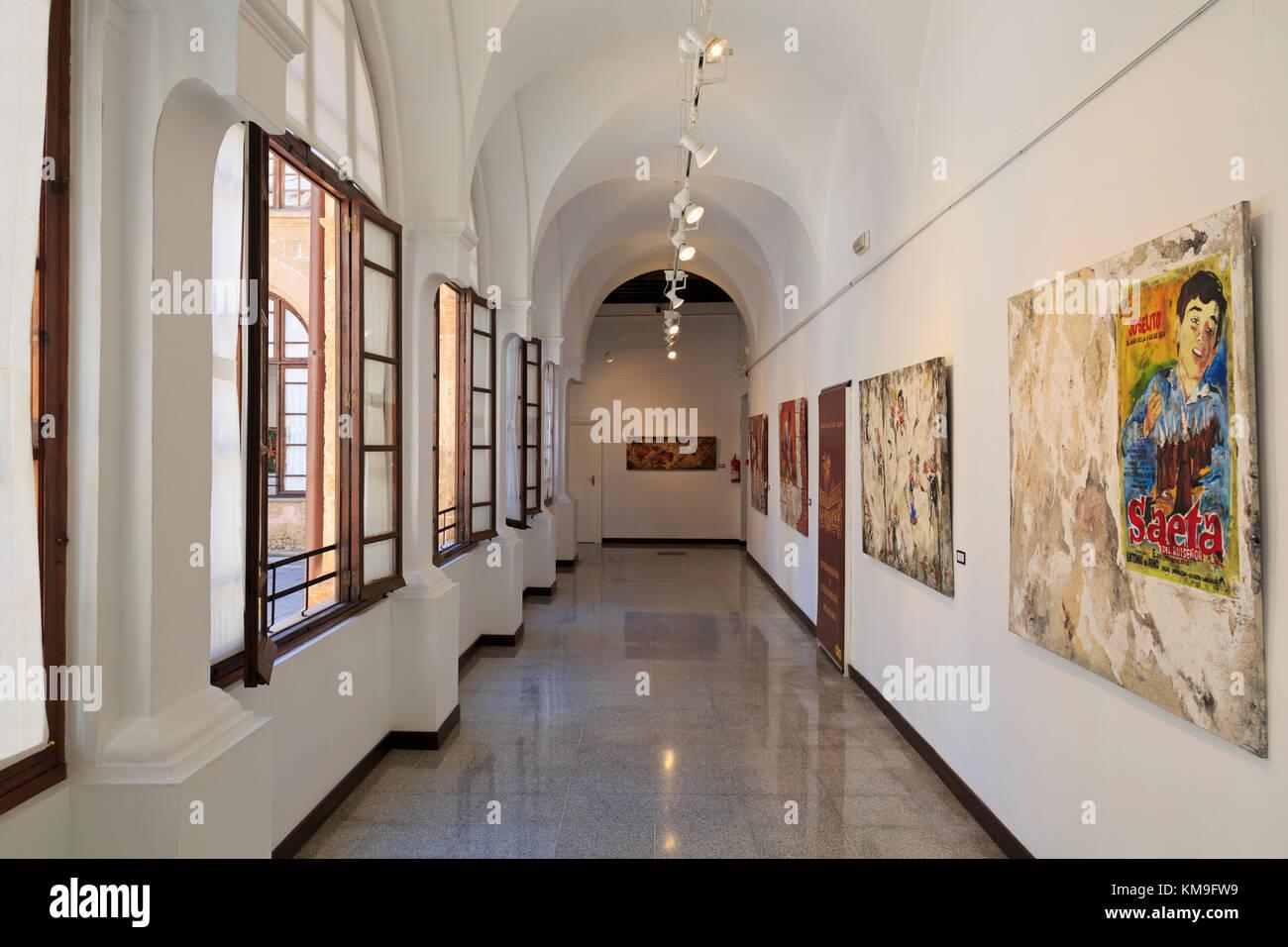 Centro de historia y cultura militar de balearas, Palma de Mallorca, Maiorca, isole belearic, Spagna, Europa Immagini Stock