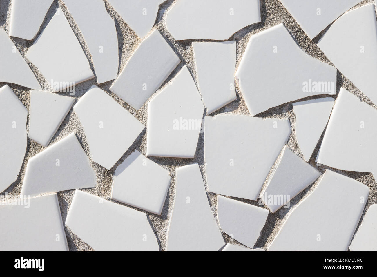 In ceramica bianca modello irregolare mosaico a parete vietri sul