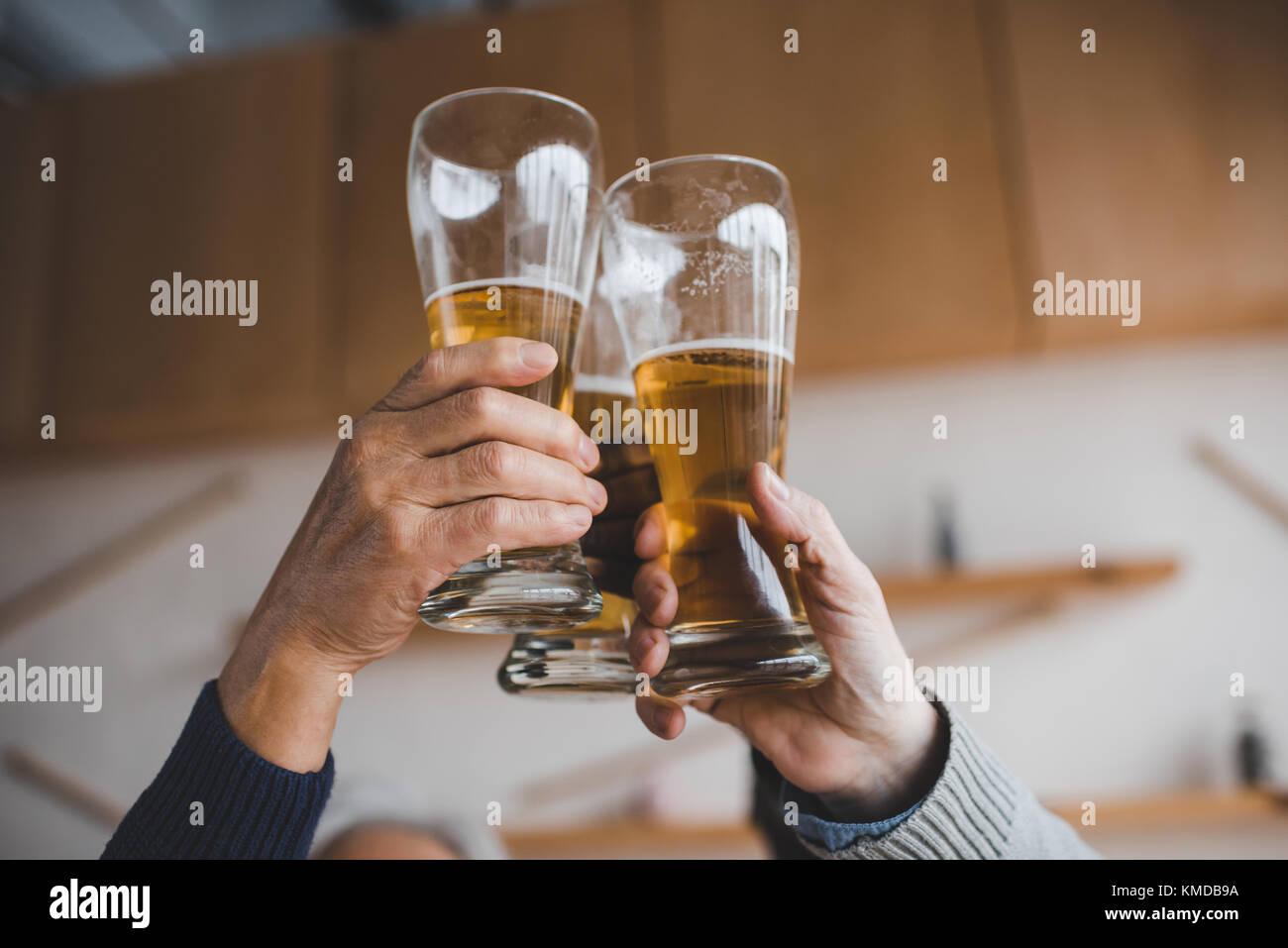 La birra Immagini Stock