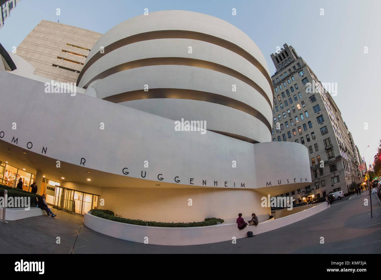 Solomon R Guggenheim Musuem, NYC Immagini Stock