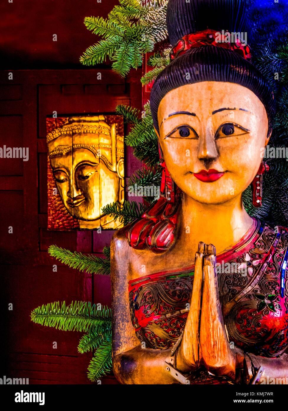 La religione, il buddismo Immagini Stock