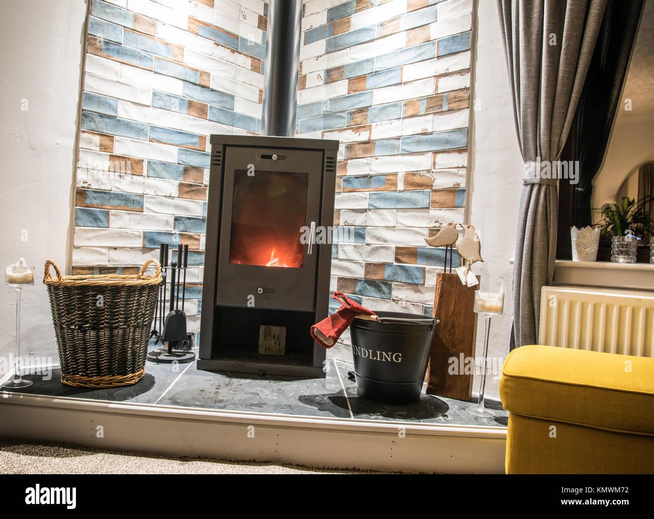 Wood burning stoves fireplace immagini & wood burning stoves