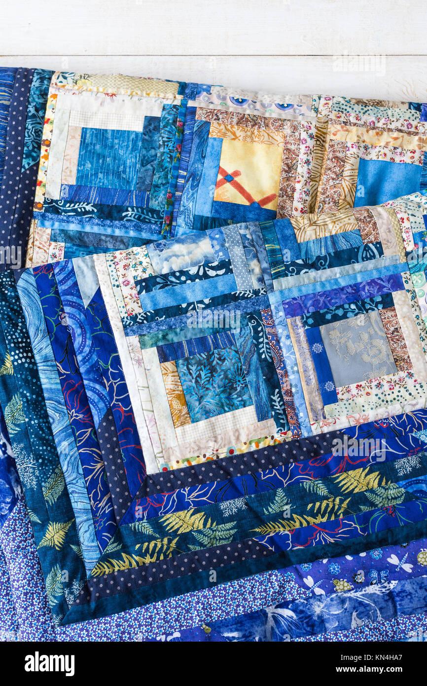 Decorazione, design, interior, artigianato, predilezione, il concetto di creazione - incredibile lavoro tessile Immagini Stock