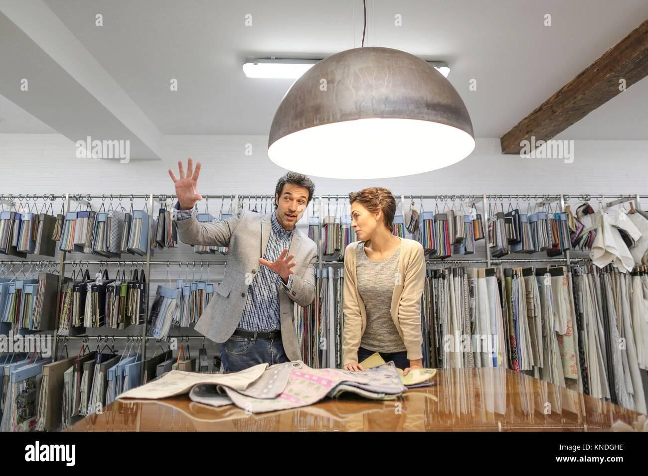 Negozio di mobili Foto Stock