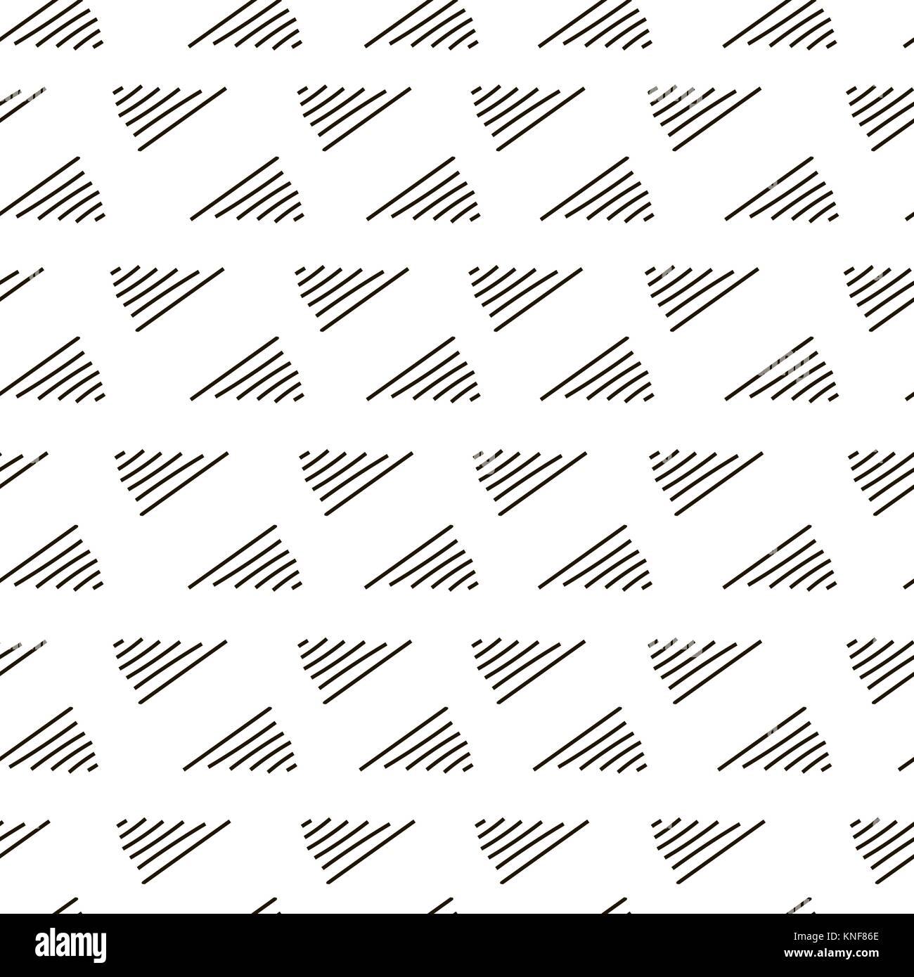 Geometrica astratta nook, angolo fashion design pattern di stampa Immagini Stock