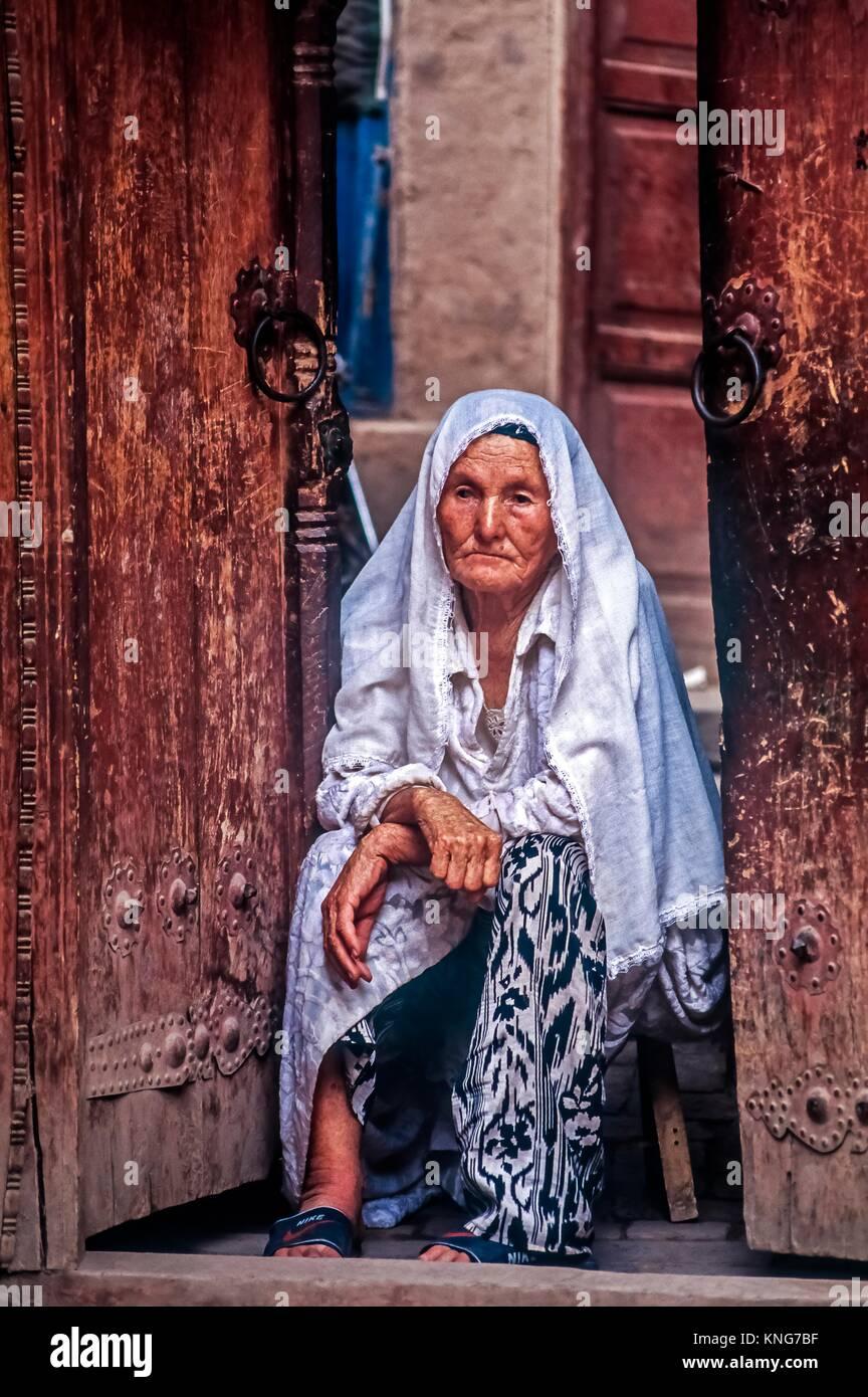 Asia Uzbekistan - Le Persone Immagini Stock