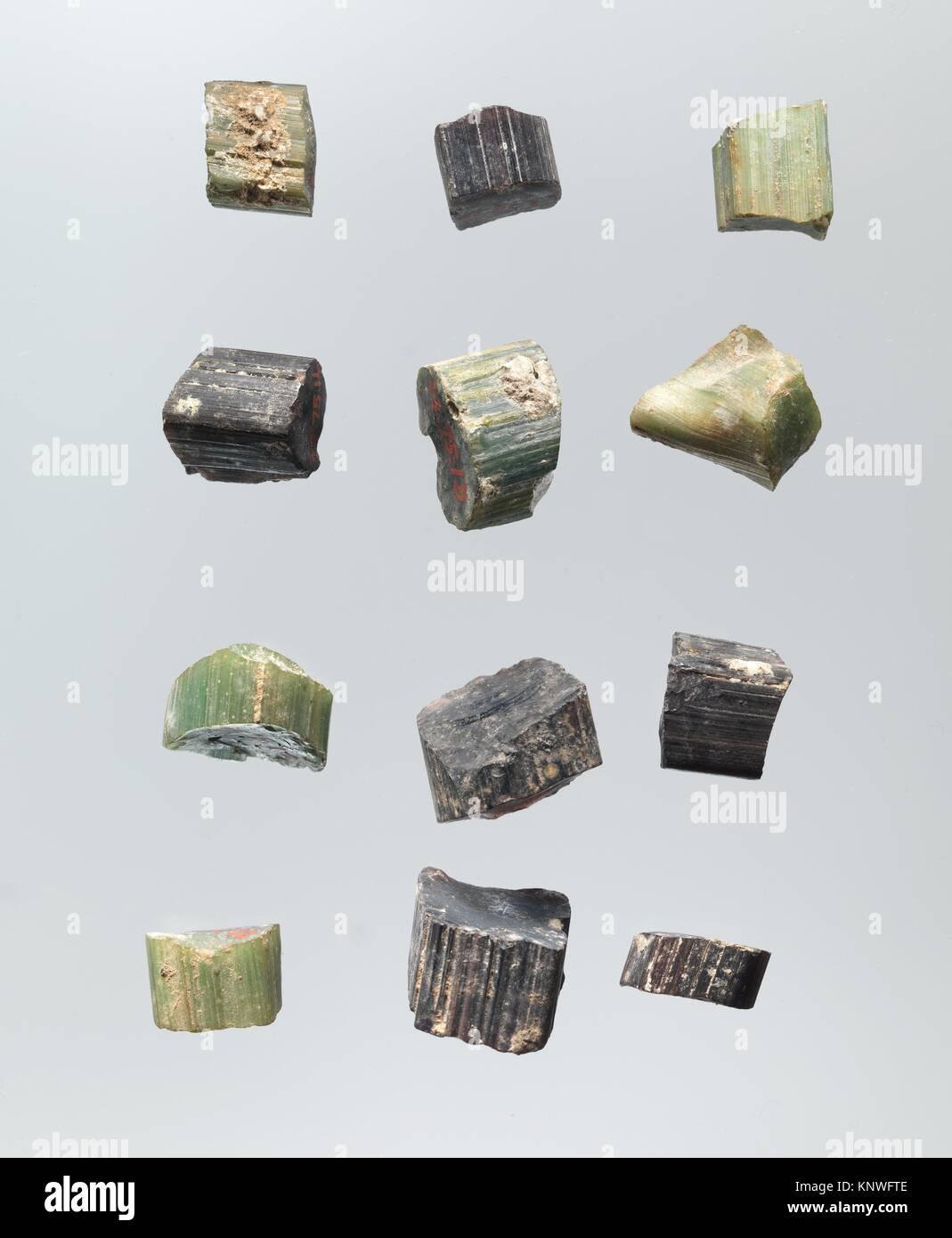 Tessere di mosaico. Nome oggetto: frammenti; Data: IX secolo; geografia: scavato in Iraq, Samarra; medie: vetro, Immagini Stock